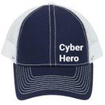 Cyber hero trucker cap