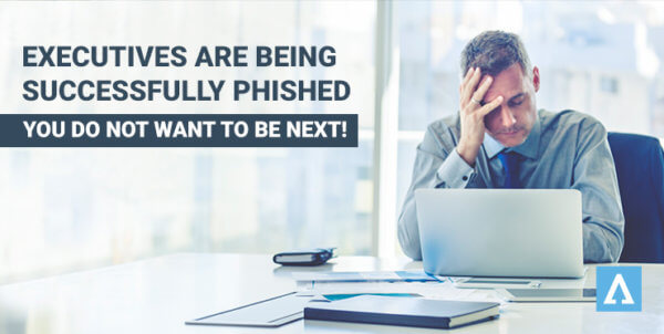 Executive phishing attacks
